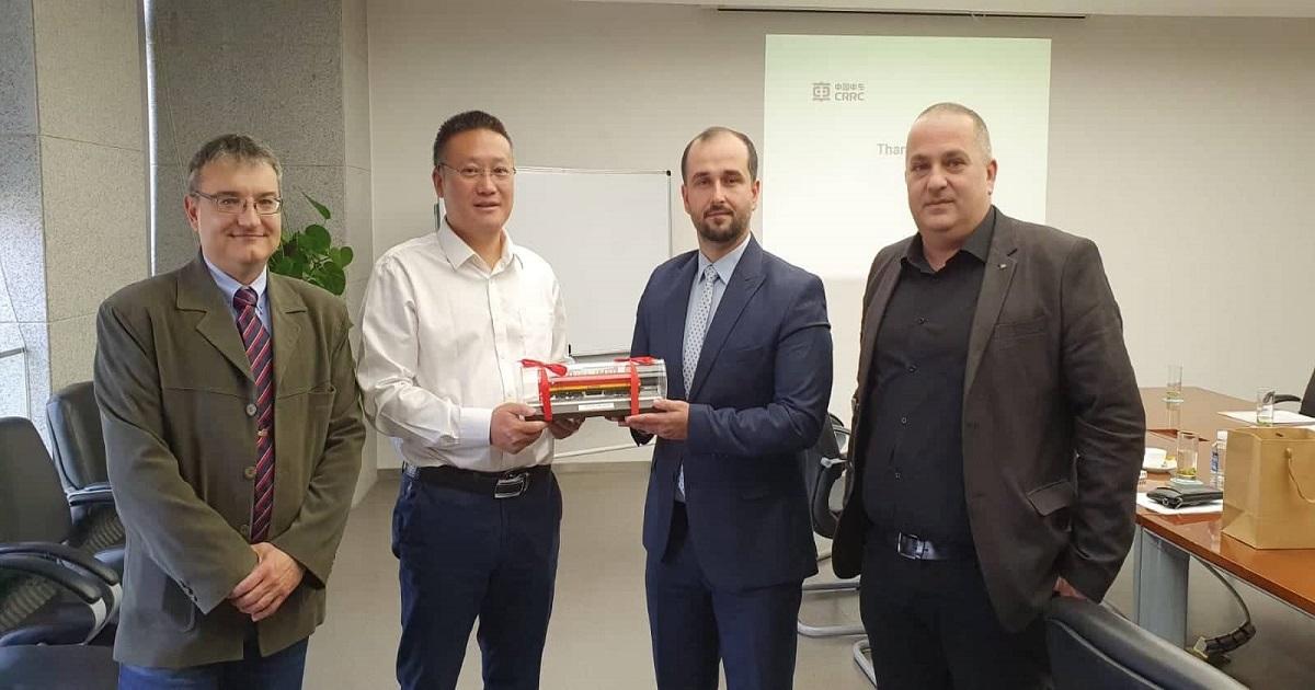 Генералниот директор Orhan Murtezani оствари средба со претставници на CRRC ZhuZhou Locomotives