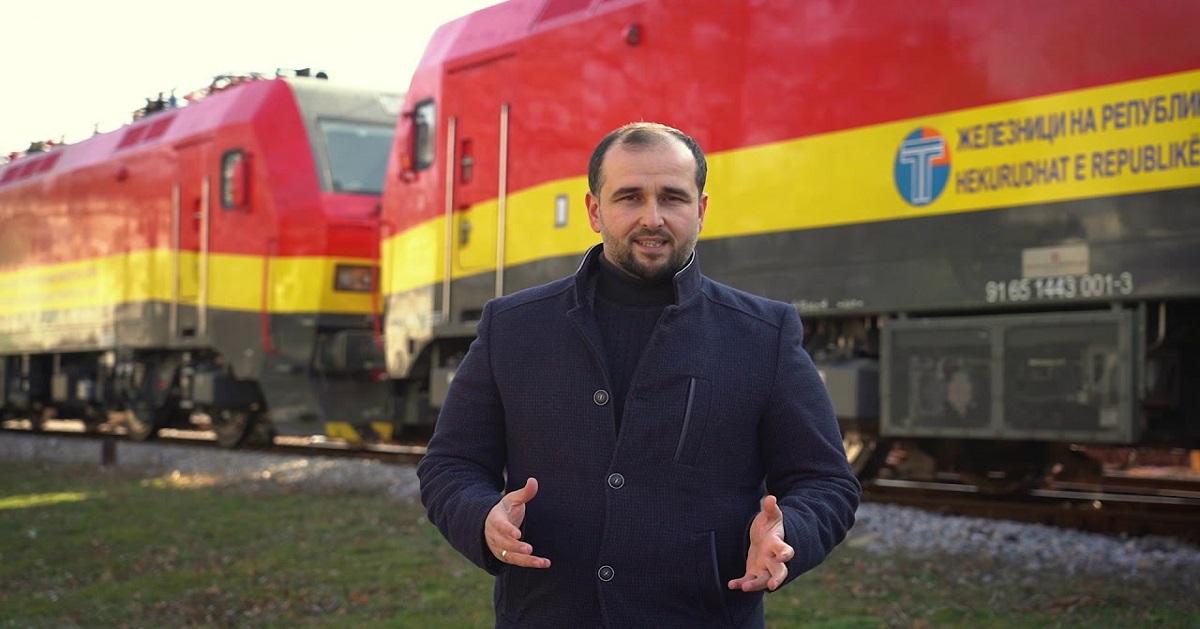 Пуштени во сообраќај три нови електролокомотиви во вредност од 6. 414.000 евра
